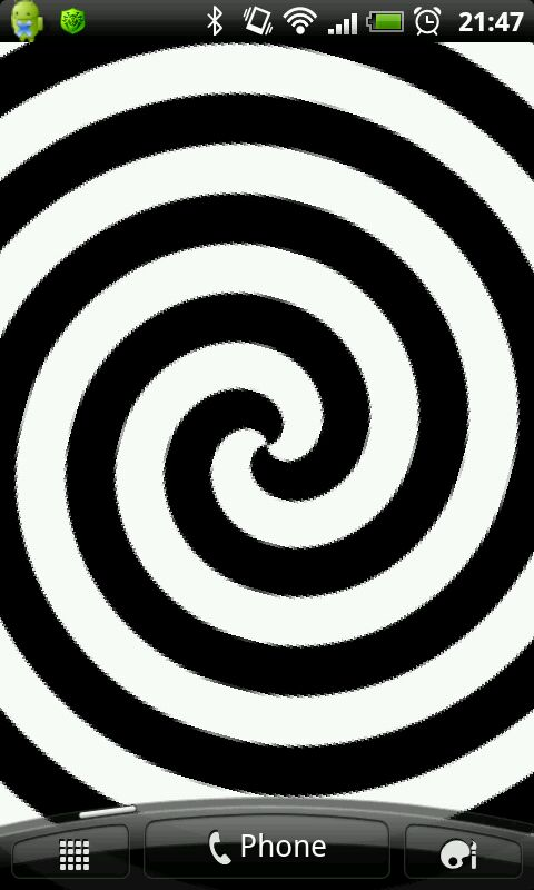 Hypnotic Spiral Live Wallpaper