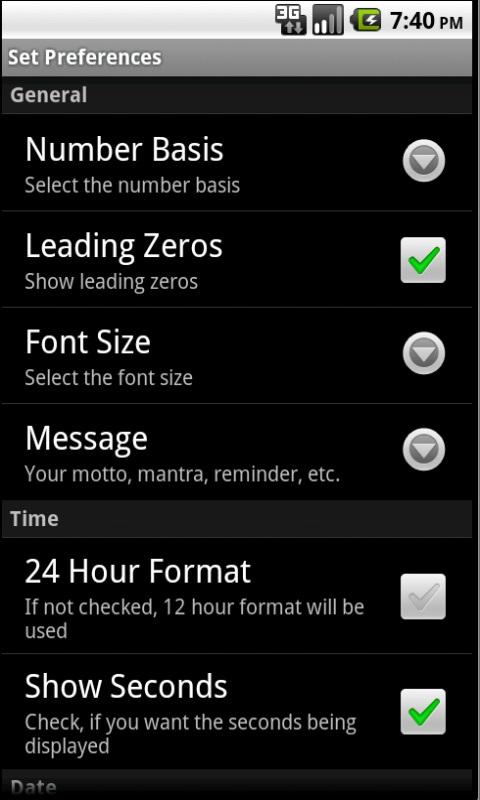Nerd Clock App