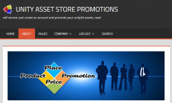 Unity Asset Store Promotions